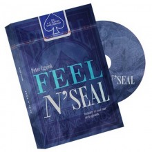 DVD - Feel N' Seal Red (DVD and Gimmick) by Peter Eggink