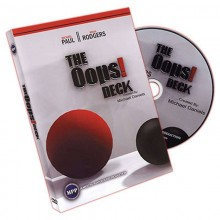 Magic DVDs DVD - Oops Deck (with Deck) by Michael Daniels TiendaMagia - 1