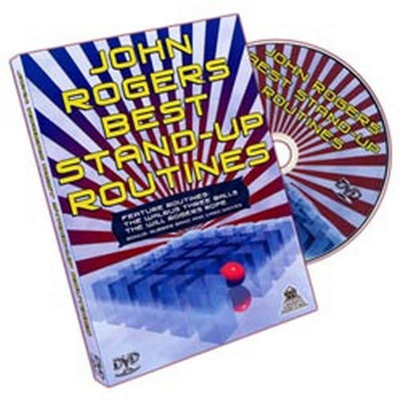 Magic DVDs DVD - Best Stand Up Routines – J. Rogers TiendaMagia - 1