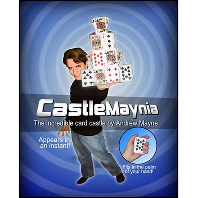 Magia Con Cartas Castillo Mania de Andrew Mayne TiendaMagia - 1