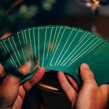 Cards NOC Out: Green and Gold Playing Cards TiendaMagia - 1