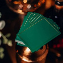 Cards NOC Out: Green and Gold Playing Cards TiendaMagia - 4