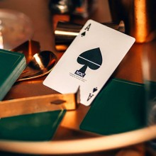 Cards NOC Out: Green and Gold Playing Cards TiendaMagia - 5