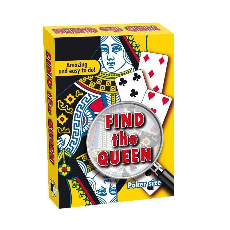 Card Tricks Find the Queen - Bicycle TiendaMagia - 1