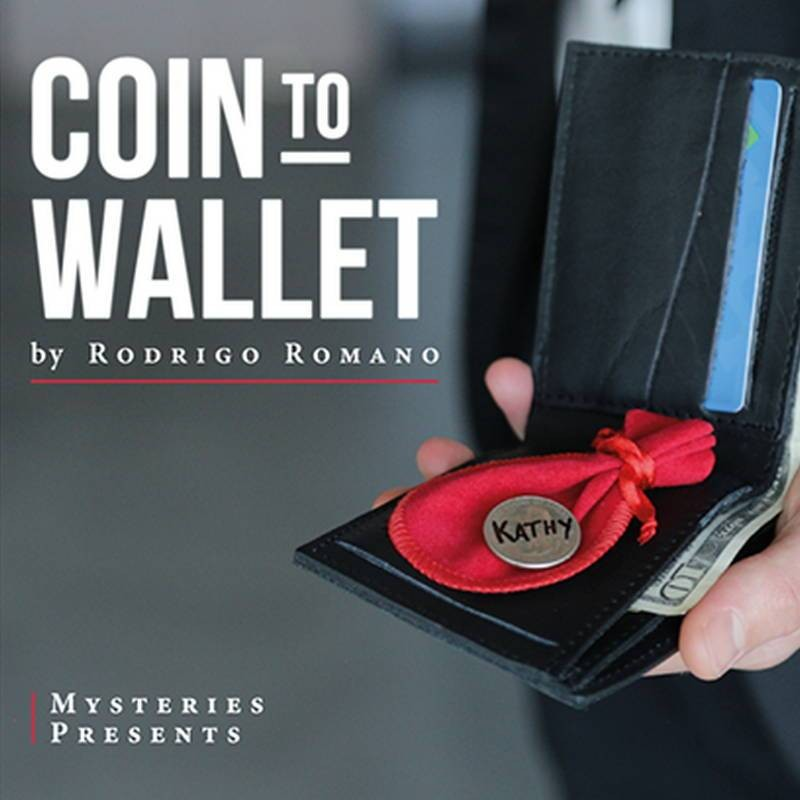 Magic with Coins Coin to Wallet by Rodrigo Romano and Mysteries TiendaMagia - 5