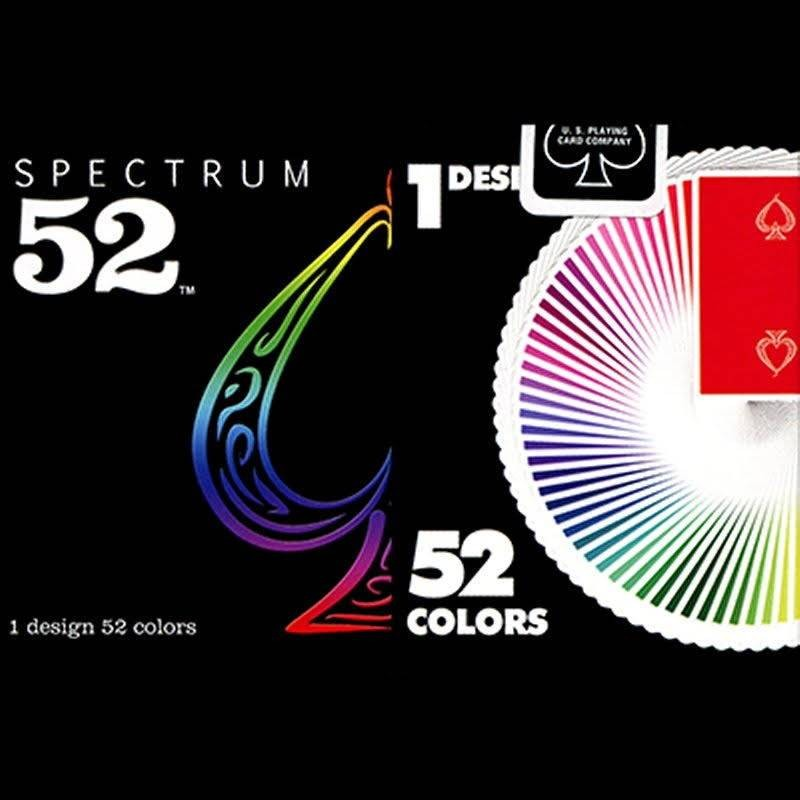 Accessories Spectrum 52 Deck by US Playing Card TiendaMagia - 1