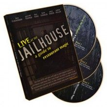 Magic DVDs DVD - Live At the Jailhouse - A Guide to Restaurant Magic (3 DVD TiendaMagia - 1