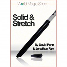 Magic Tricks Solid and Stretch (DVD and Gimmicks) by David Penn and Jonathon Farr TiendaMagia - 1
