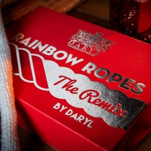 Close Up Rainbow Ropes Remix Standard by Daryl - White, red and blue Fooler Doolers - Daryl - 2