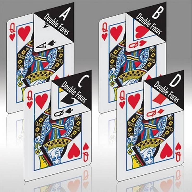 Cards Phoenix Double Faced Decks Card-Shark - 1