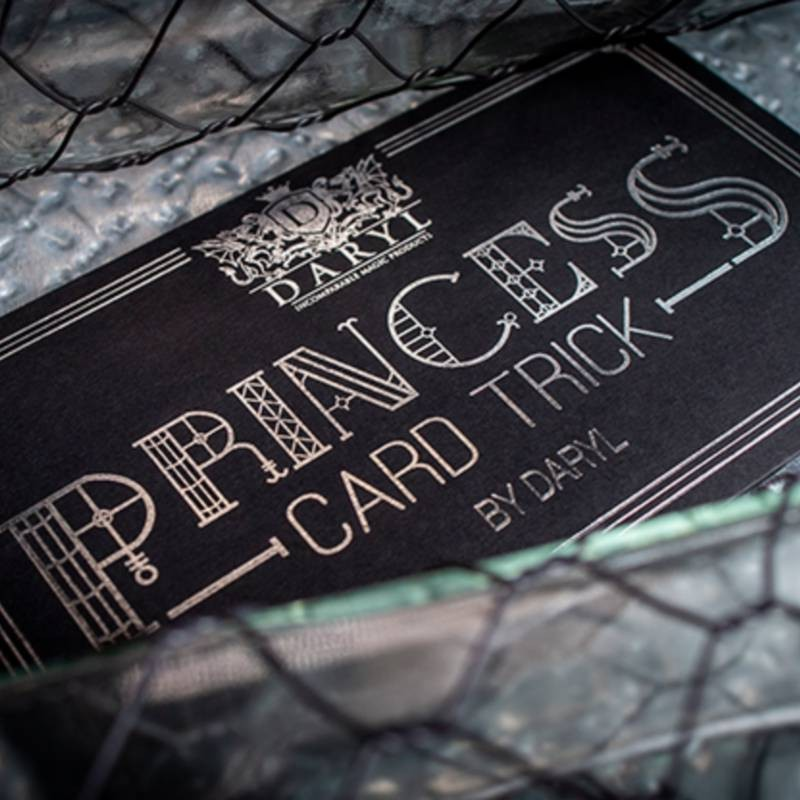 Princess Card Trick (Gimmicks and Online Instruction) by DARYL - Trick