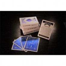 Cards Bicycle Rider Back Cobalt Luxe (Blue) by US Playing Card Co TiendaMagia - 3