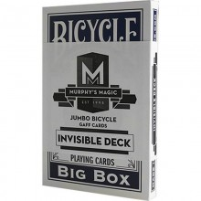The invisible deck Bicycle - Jumbo