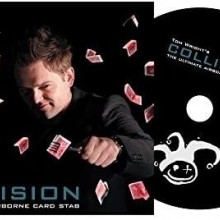Card Tricks DVD - Collision (DVD and Gimmick) by Tom Wright TiendaMagia - 1