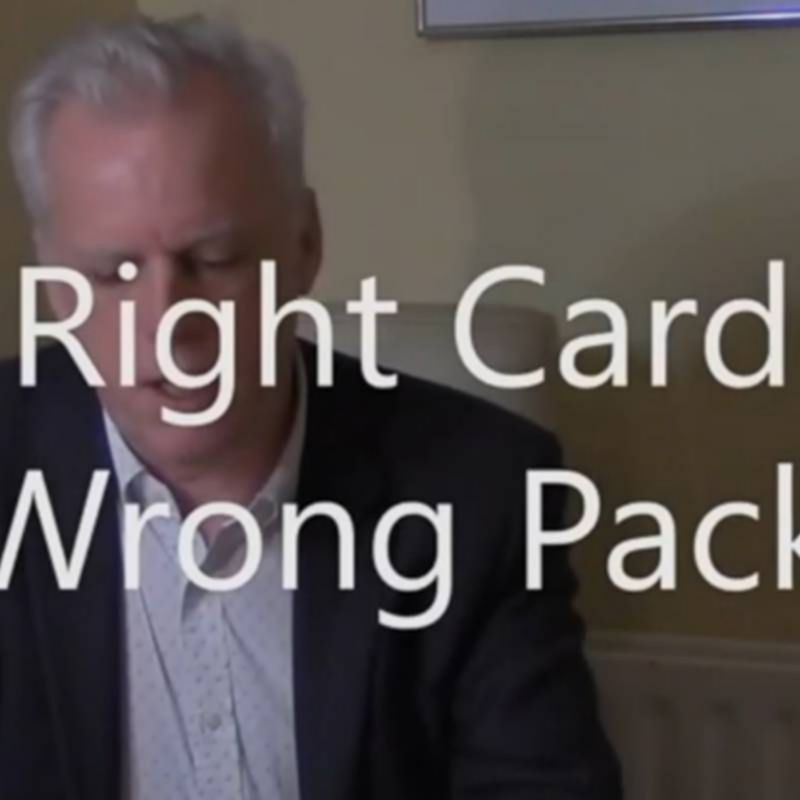 Right Card, Wrong Pack by Brian Lewis video DESCARGA