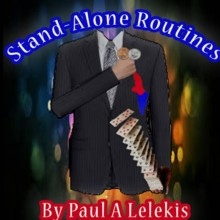 STAND-ALONE ROUTINES by Paul A. Lelekis Mixed Media DESCARGA