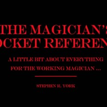 The Magician's Pocket Reference by Stephen R. York eBook DOWNLOAD