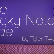 The Vault - The Sticky-Note Slide by Tyler Twombly video DESCARGA