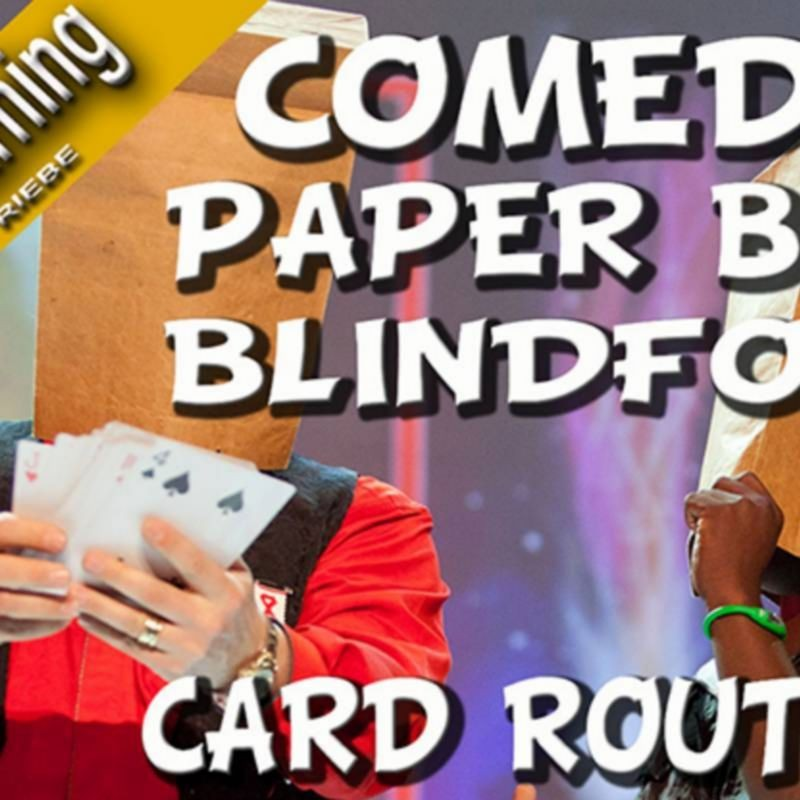 Comedy Paper Bag Blindfold Routine by Wolfgang Riebe video DESCARGA