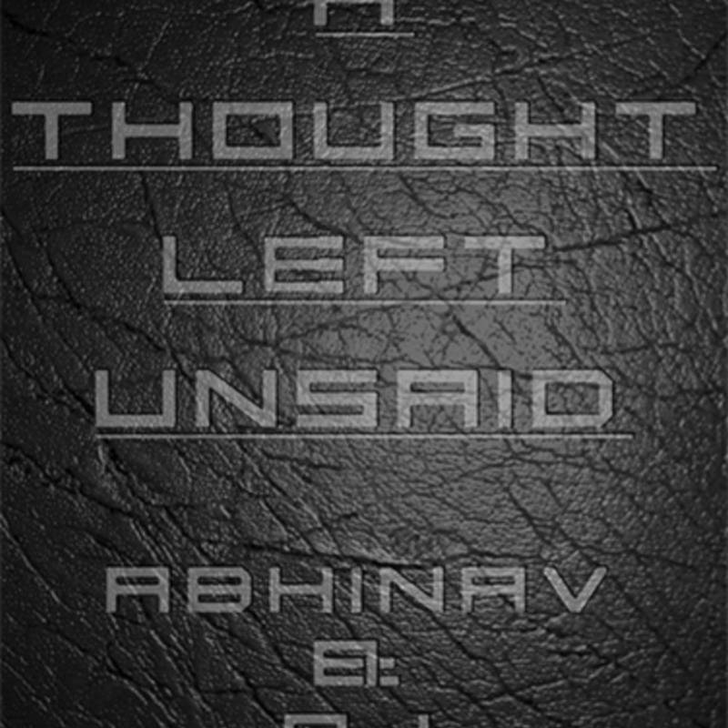 A Thought Left Unsaid by Abhinav Bothra & AJ eBook DOWNLOAD