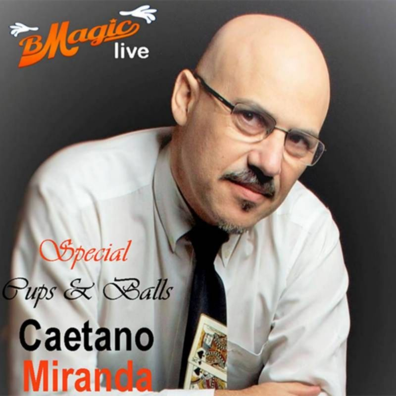 Special Cups & Balls (Portuguese Language Only) by Caetano Miranda