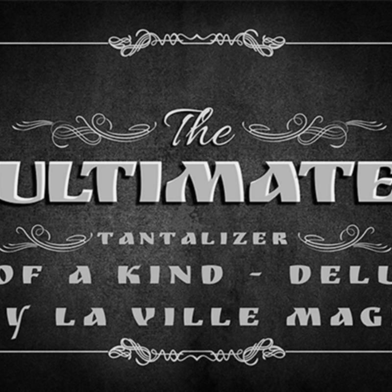 The Ultimate Tantalizer - 4 Of A Kind Deluxe By La Ville Magic video DESCARGA