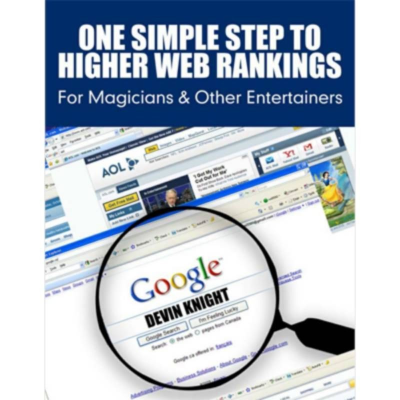One Simple Step To Higher Web Rankings For Magicians by Devin Knight - eBook DESCARGA