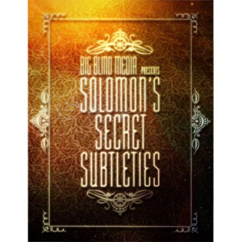 Solomon's Secret Subtleties by David Solomon video DESCARGA