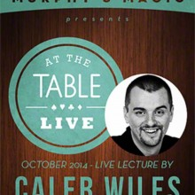 At The Table Live Lecture - Caleb Wiles 10/15/2014 video DOWNLOAD