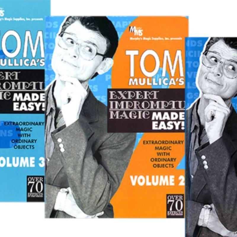 Mullica Expert Impromptu Magic Made Easy Set (Vol 1 thru 3)  Tom Mullica video DOWNLOAD