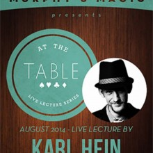At the Table Live Lecture - Karl Hein 8/6/2014 - video DESCARGA