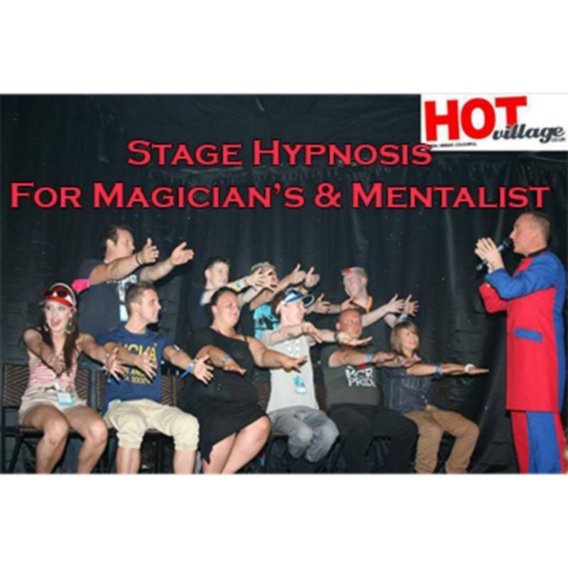 Stage Hypnosis for Magicians & Mentalists by Jonathan Royle - Mixed Media DESCARGA