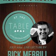 At the Table Live Lecture - Rick Merrill 7/16/2014 - video DESCARGA