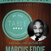 At the Table Live Lecture - Marcus Eddie 7/2/2014 - video DESCARGA