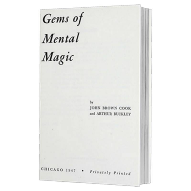Gems of Mental Magic by Arthur Buckley and The Conjuring Arts Research Center - eBook DESCARGA