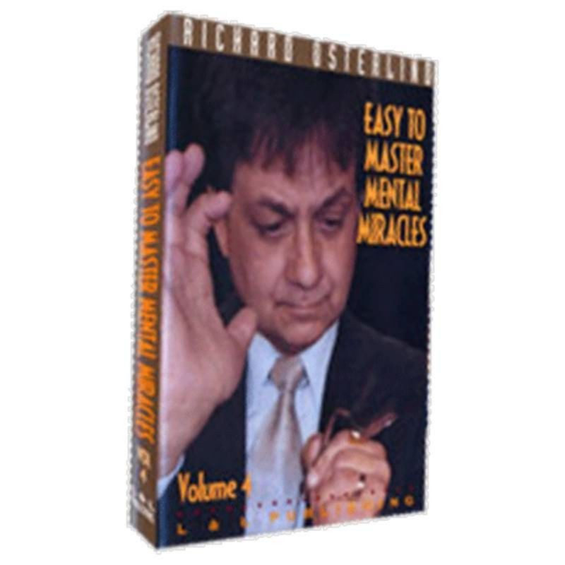 Easy to Master Mental Miracles  Volume 4 by Richard Osterlind and L&L Publishing video DESCARGA