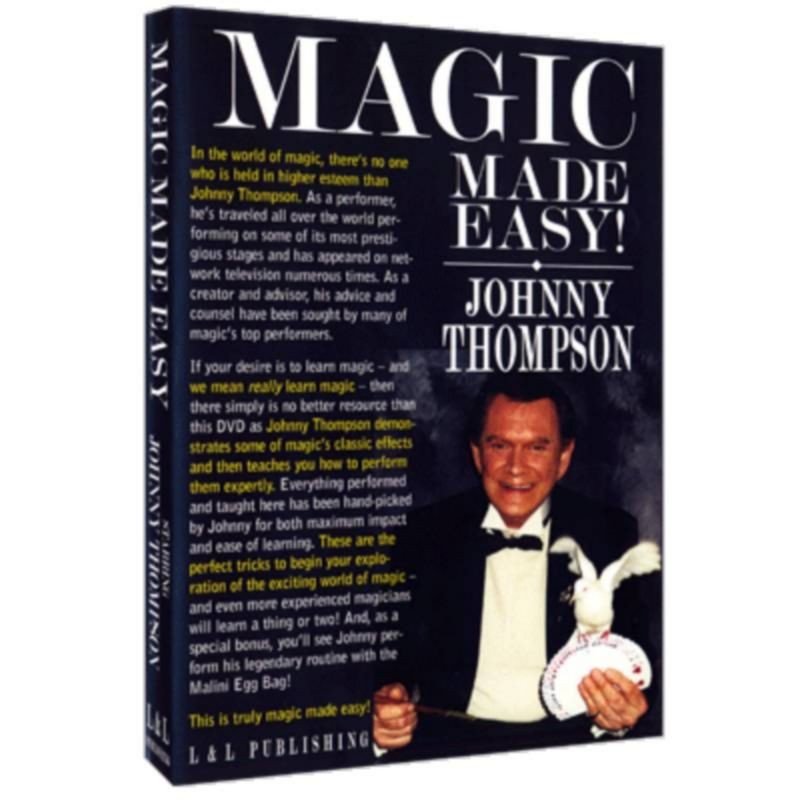 Johnny Thompson's Magic Made Easy by L&L Publishing video DOWNLOAD