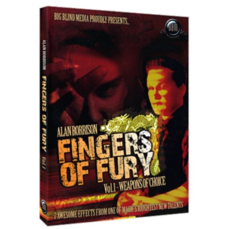 Fingers of Fury Vol.1 (Weapons Of Choice) by Alan Rorrison & Big Blind Media video DESCARGA