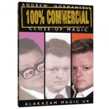 100 percent Commercial Volume 3 - Close-Up Magic by Andrew Normansell video DESCARGA