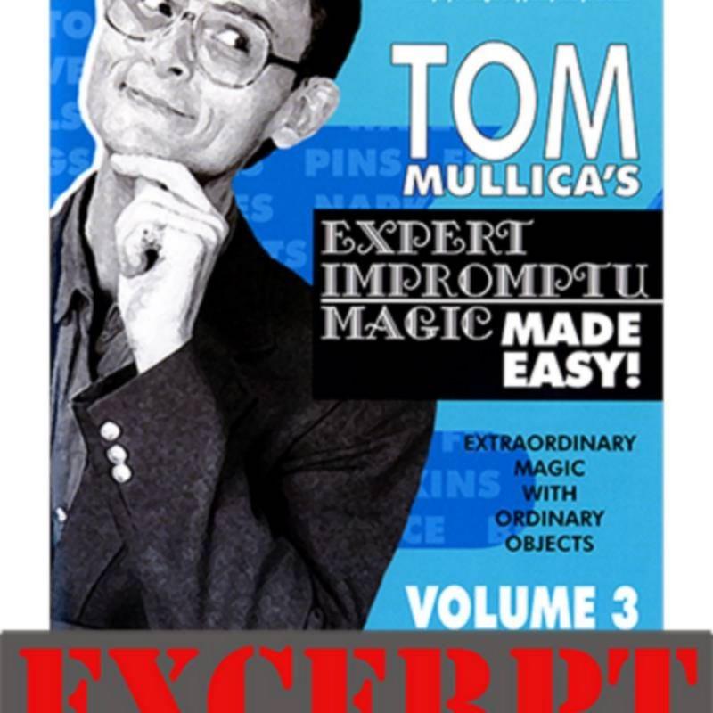 Stern Paper Fold video DESCARGA (Excerpt of Mullica Expert Impromptu Magic Made Easy Tom Mullica- 3, DVD)