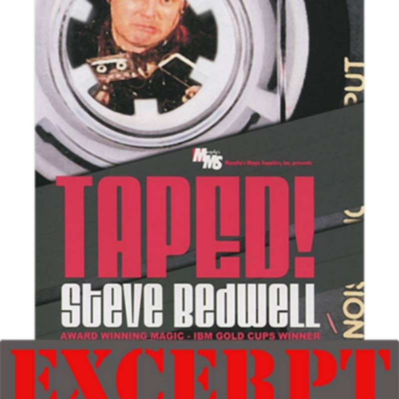 Parked Card! video DESCARGA (Excerpt Taped!) by Steve Bedwell