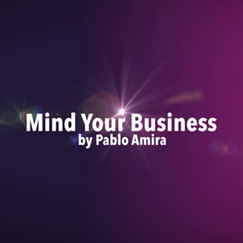 Mentalism,Bizarre and Psychokinesis Performer Mind Your Business Project by Pablo Amira video DOWNLOAD MMSMEDIA - 1