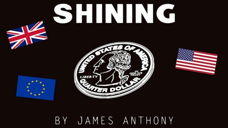 Magic with Coins Shining EURO (Gimmicks and Online Instructions) by James Anthony - Trick TiendaMagia - 1