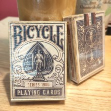 Cards Bicycle - 1900 Playing Cards - Blue Ellusionist magic tricks - 3
