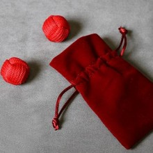 Accesories Various Monkey Fist Chop Cup Balls (1 Regular and 1 Magnetic) by Leo Smetsters TiendaMagia - 2