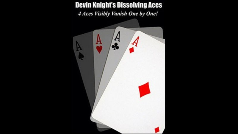 Card Magic and Trick Decks DISSOLVING ACES by Devin Knight eBook DOWNLOAD MMSMEDIA - 1