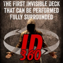 Card Tricks ID 360 - The 360 degrees Invisible Deck Card-Shark - 1