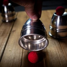 Accessories CUPS and BALLS Aluminum by Murphy's Magic TiendaMagia - 4