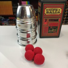 Accessories CUPS and BALLS Aluminum by Murphy's Magic TiendaMagia - 7