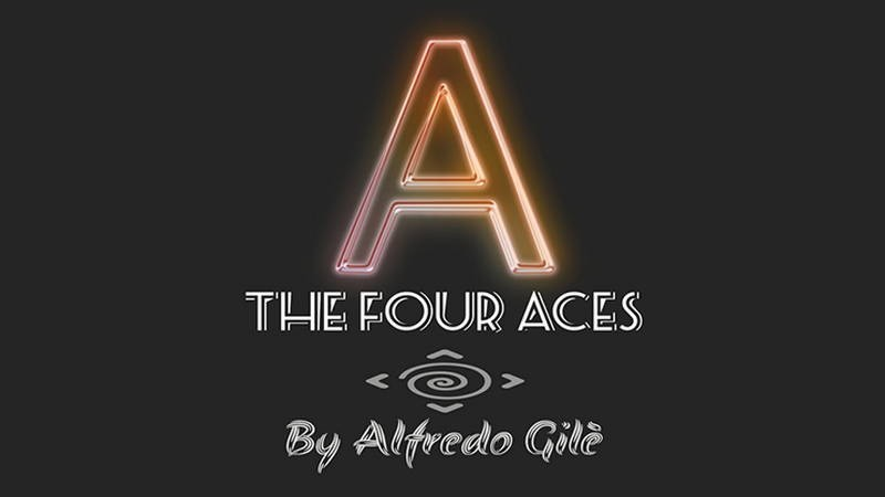 Card Magic and Trick Decks The Four Aces by Alfredo Gile video DOWNLOAD MMSMEDIA - 2